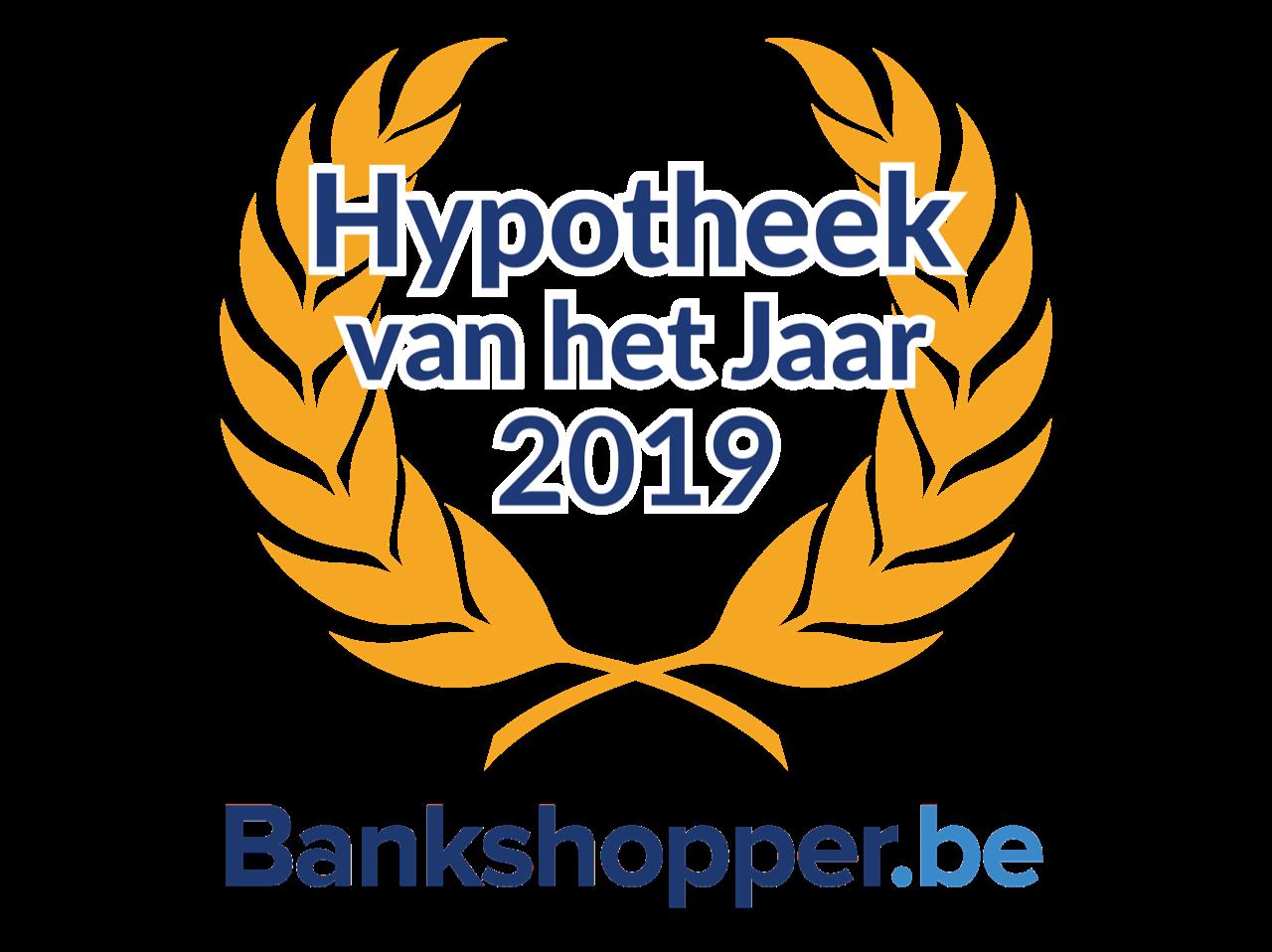 Hypotheek van het jaar 2019