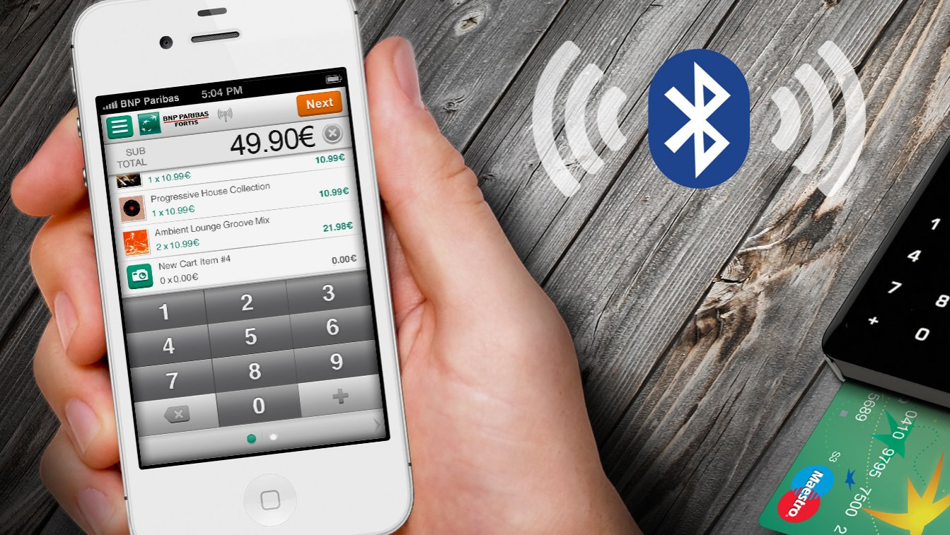 BNP Paribas Fortis pioneers smartphone card payment ...